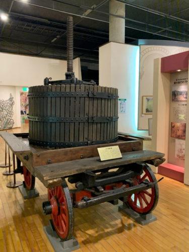 古代ローマ人が発明したブドウ搾り機