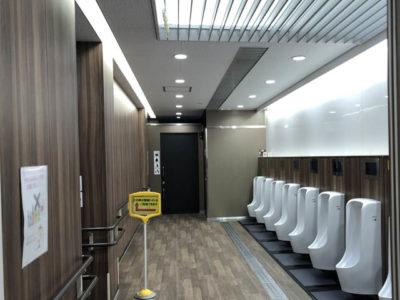双葉SAの綺麗なトイレ