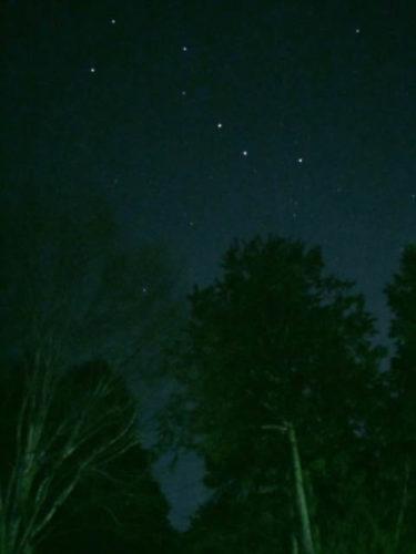 伊奈ヶ湖の北斗七星