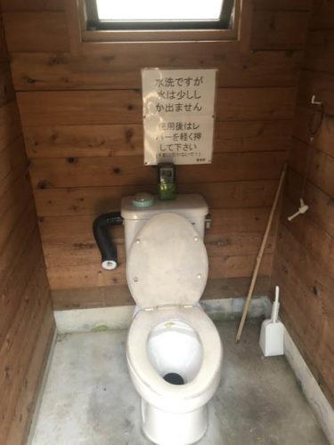 大のトイレ