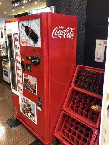 瓶コーラ自販機