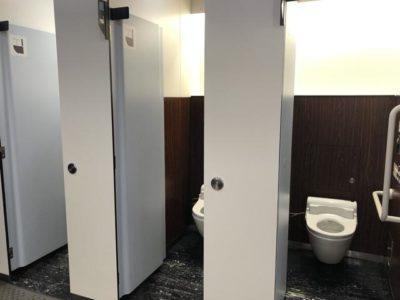 トイレも清潔