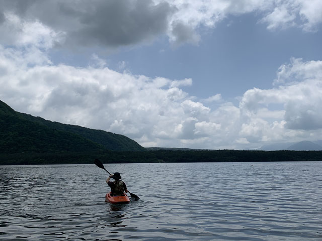 湖で良かった